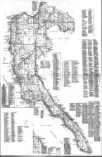 1960 Land Owners Names Map